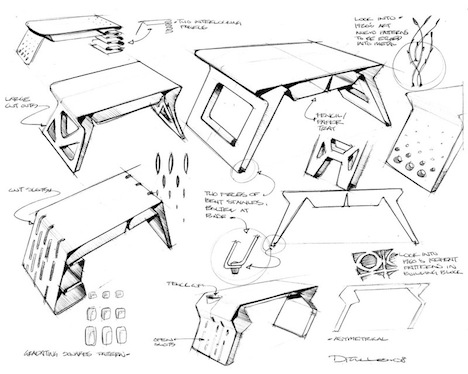Cad Versus Sketching Why Ask By James Self 21844 on wooden table and chairs