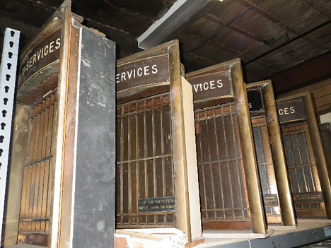 Some ex&les: Pictured up top are a bunch of salvaged doors that local architecture firm Lot-Ek turned into a reading platform for architecture \u0026 design ... & Build it Green! NYC: Salvaging the Big Apple\u0027s Construction Waste ... Pezcame.Com
