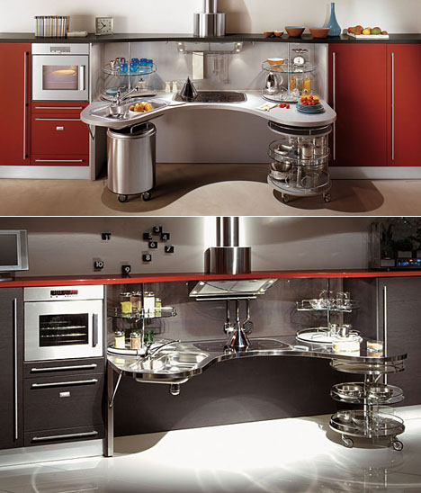 Skyline Lab Wheelchair-Friendly Kitchen Design