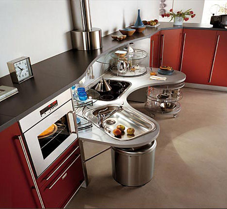 Skyline lab wheelchair friendly kitchen design core77 for High level kitchen units