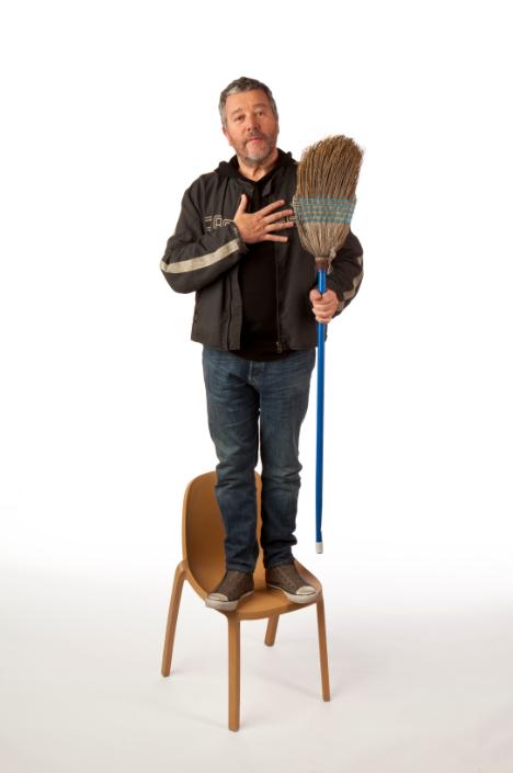 ny design week 2012 icff philippe starck 39 s broom chair. Black Bedroom Furniture Sets. Home Design Ideas