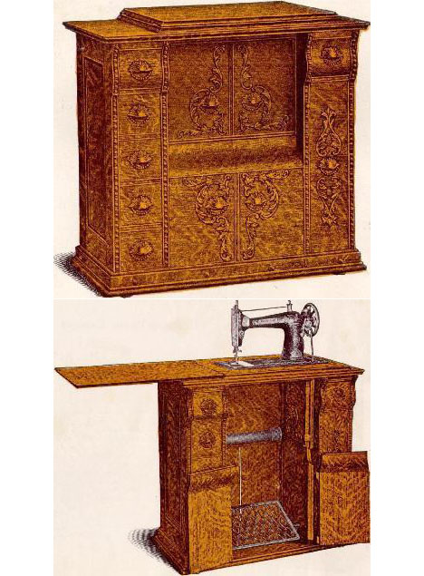 Sourcing Wood for Furniture, Then & Now: The Singer Sewing Machine