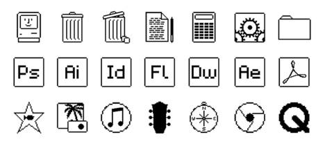 BenVessey-MacOS(OldSchool)Icons.jpg