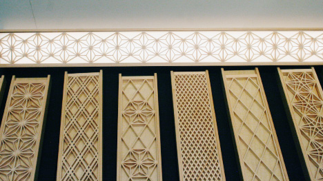 decorative wood trim for walls traditional japanese woodwork abound core77