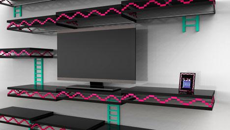 Igor Chaks VintageVideogameBased Furniture Designs Core77