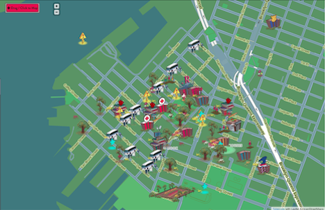A community owned map accessed via mesh networks core77 the original intention came out of working with community in red hook baldwin noted in an interview with core77 the original piece of investigation was gumiabroncs Image collections