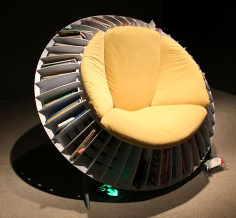 He Mu and Zhang Qian's Sunflower Chair