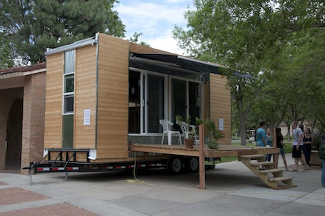 How william root spent his summer vacation in 160 square for Best small house plans ever