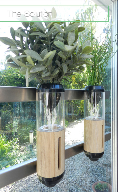 The Small Self Contained Planters Are Designed As An Ultra Low Maintenance Home  Hydroponic System, A Soil Free Source Of Hyperlocal Produce For Aspiring ... Good Ideas
