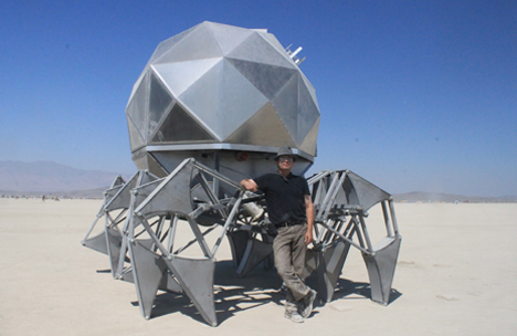 burningman walkingpod scott 2012   Walking Pod   Scott Parenteau (American)