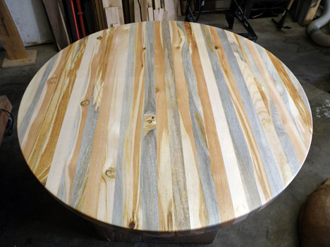 Custom Furniture Manufacturers Like Wood Wise Productions Make Tabletops  Out Of It.