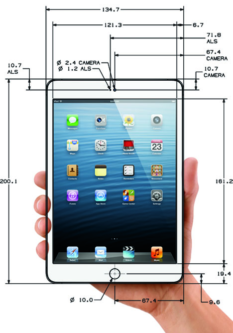 Ipad mini cad files case design guidelines and more available on ipad mini cad files case design guidelines and more available on apples developer site malvernweather Images