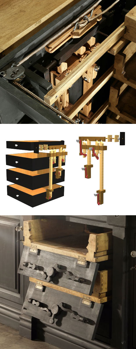 How do you build a secret compartment?