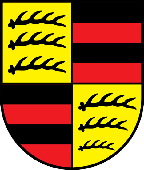 in 1952 wurttemberg was subsequently merged with baden and cleverly named baden wurttemberg which is the modern german state we know today - Porsche Logo
