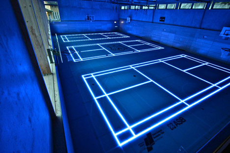 the tron basketball court of the future democratic