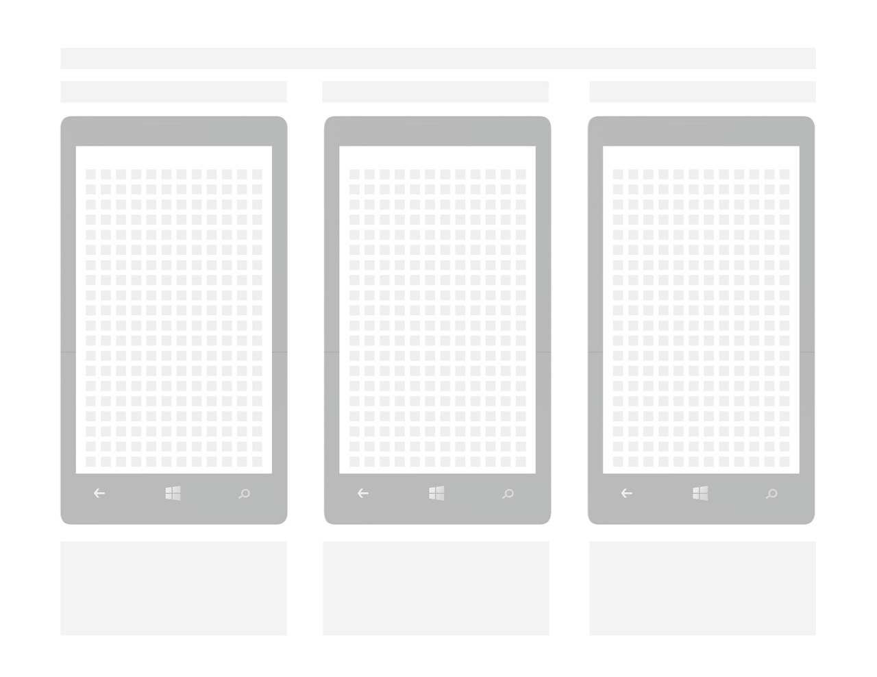 8 tips for designing windows phone apps lightning design for Window design template