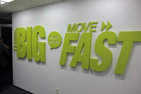 Think Big, Start Slow, Move Fast!