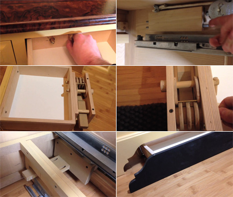 A New Secret Drawer Mechanism From Brian Grabski