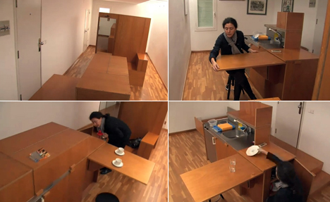 An Unusual Take on the Transforming Micro-Apartment: Forget the ...