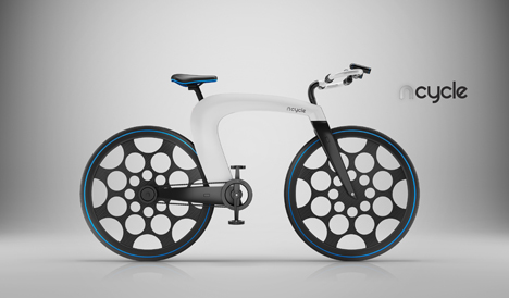 nCycle, the First Electric Bicycle Concept of 2013 - Core77