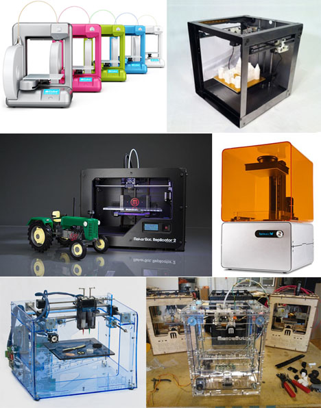 A Database of 120 Different 3D Printers, With Prices & Stats - Core77