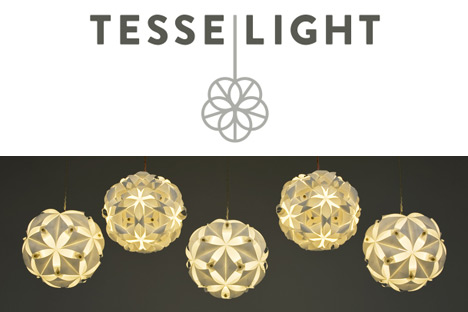 Introducing the tesselight christine price hamiltons bucky ball launched last week the collection of pendant lighting fixtures are made from delicately assembled translucent paper that has been sealed with a mozeypictures Images