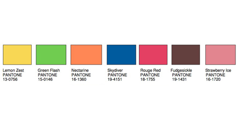 Show 2013: Pantone 2013 Color of the Year & 2014 Color Trends