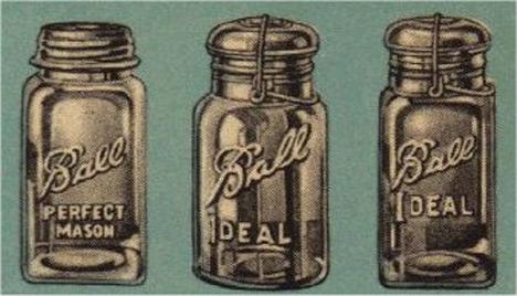 Old Fashioned Preserve Jars