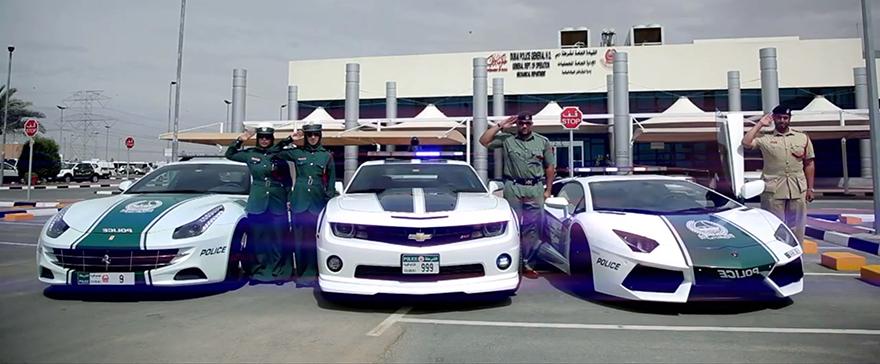 Why Is Dubai Assembling A Supercar Police Fleet