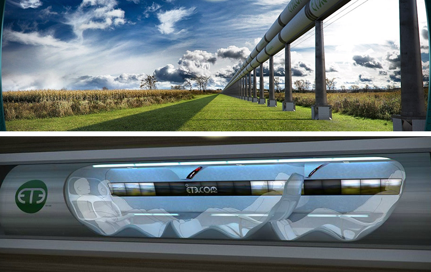 Elon Musk Conceives New 'Hyperloop' Transportation System: Neither ...