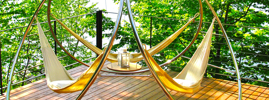 who says a hammock has to hang  the london based designer benjamin hubert evokes the outdoor furniture u0027s flexible body in his cradle lounge chair     trendlet  reimagining the hammock   core77  rh   core77
