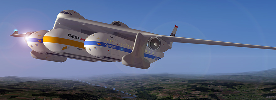 Flexible Transportation: Clip-Air Modular Airplane Concept is an ...