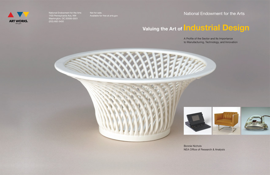 Check out nea 39 s impressive report on 39 valuing the art of for Innovation in product and industrial design