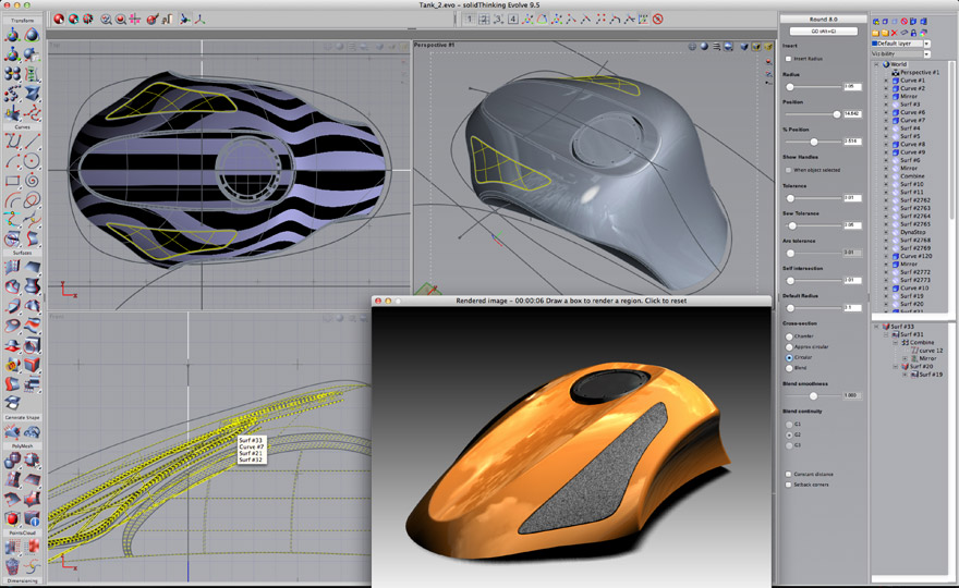 solidthinking evolve 9 5 a swiss army knife of 3d