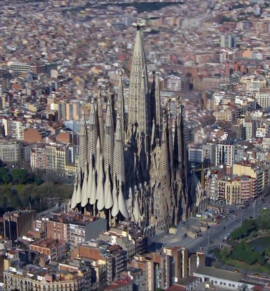 Watch This Animation Of Gaudi S Amazing 150 Year Church