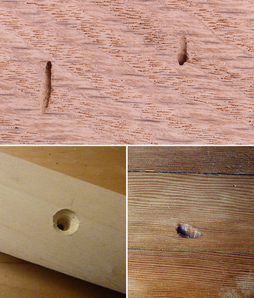 How To Fix Holes In Wood Furniture
