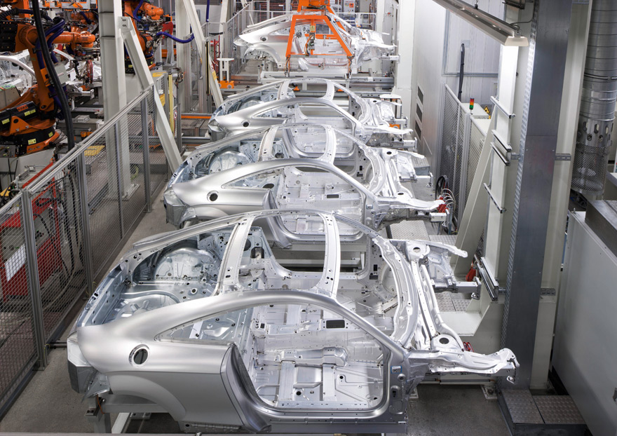 Audi A3 Production, Ingolstadt plant - YouTube