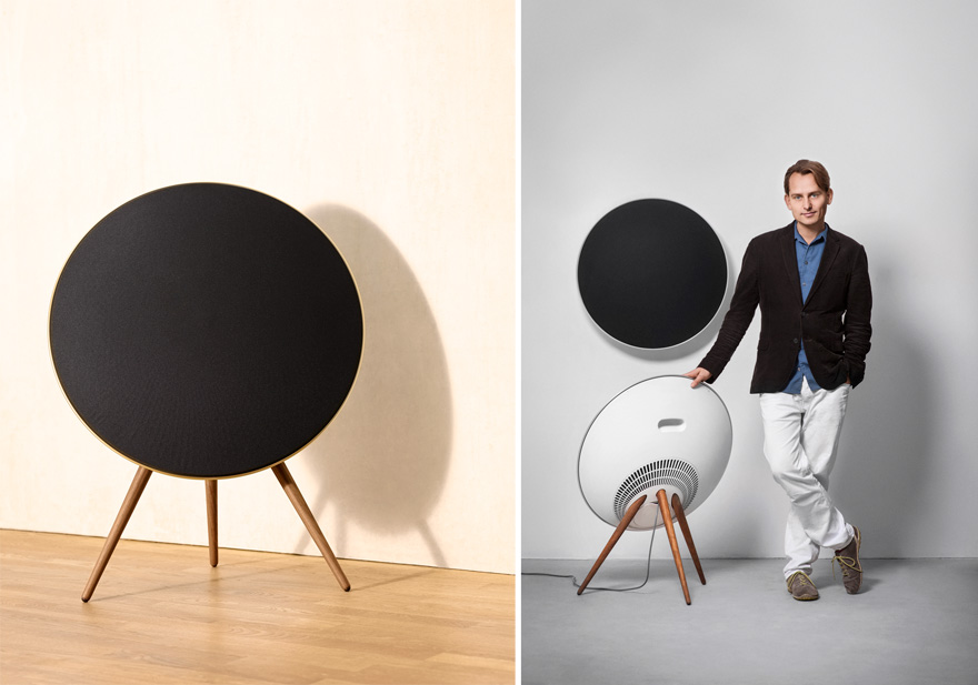 in the details an unusual wireless speaker in more ways. Black Bedroom Furniture Sets. Home Design Ideas
