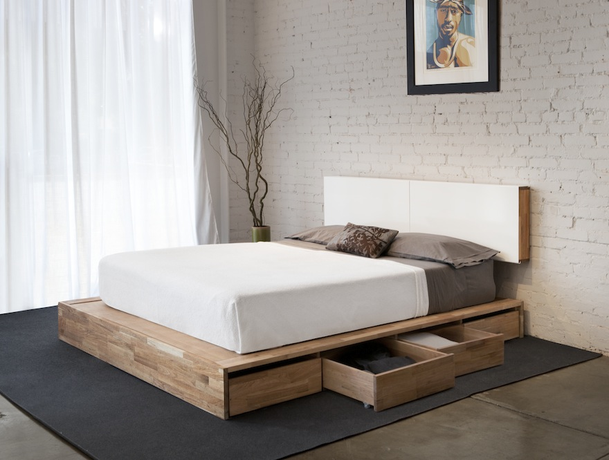 Bedroom Furniture 2014 bedroom storage: making the most of the under-bed space - core77