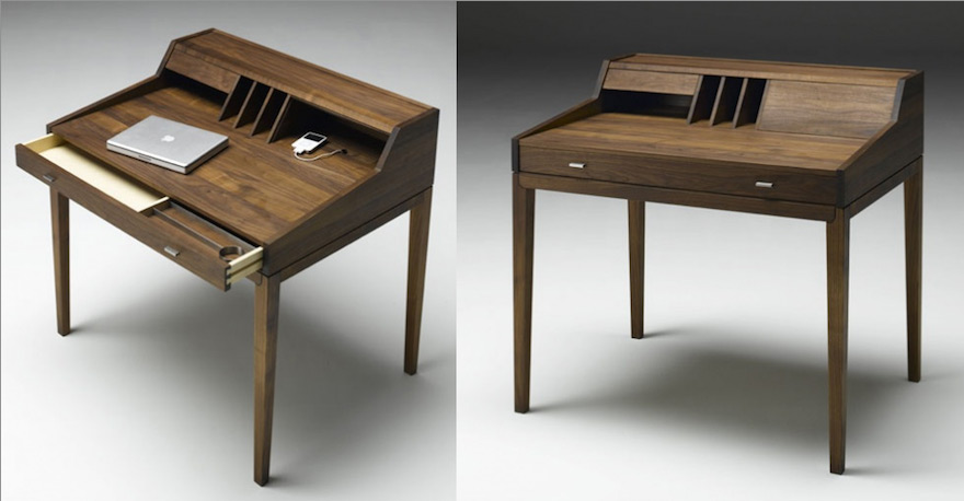 Design for Small Spaces Desks with Storage Core77