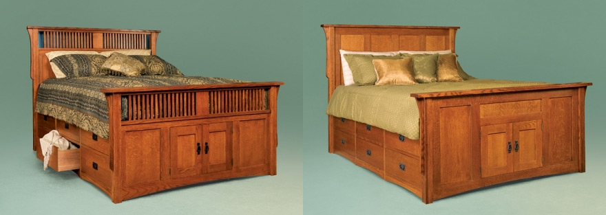 Fabulous Bedroom Storage Making the Most of the Under Bed Space