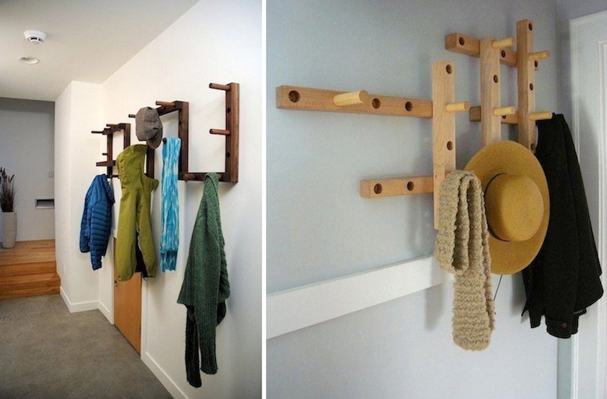 Designs for the Hanging of Things, Part 2: Coat Racks