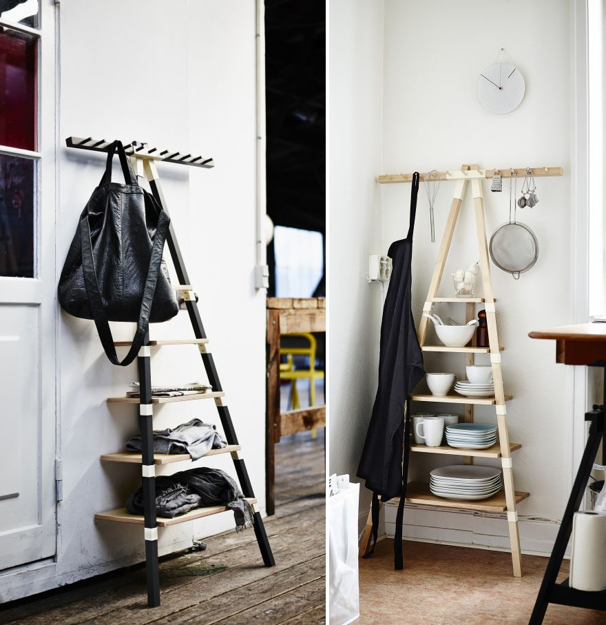 And this ladder like storage shelving unit. IKEA s Quirky  Forthcoming PS 2014 Collection   Core77
