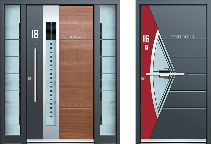Inotherm 39 s front doors put yours to shame core77 for Main door designs 2014