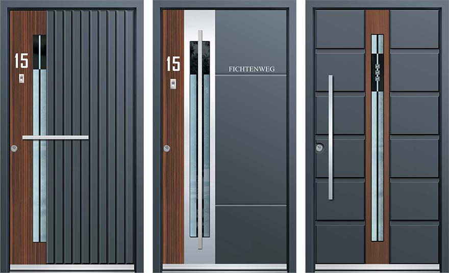 Inotherm 39 s front doors put yours to shame core77 for Modern single front door designs for houses