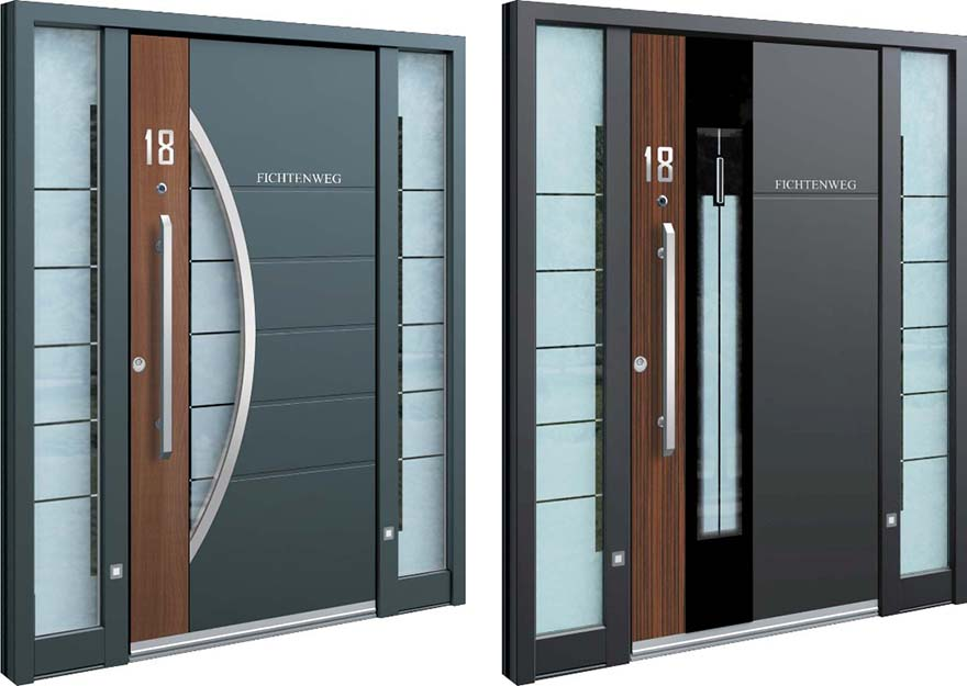Inotherm 39 s front doors put yours to shame core77 for Domestic front doors