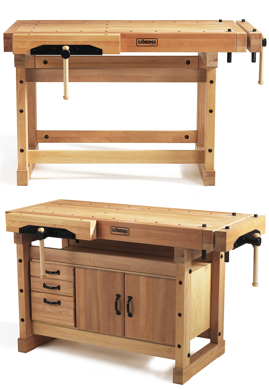 Sjöbergs' Traditional Workbenches and Portable Smart Vise - Core77