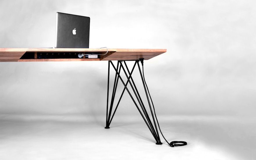 Designing For Cutting Cable Clutter Part 2 Desks With