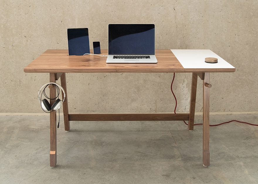 Desk Simple Unique Artifox's Simple Elegant Desk 01 Designed For Modernday Needs Decorating Inspiration