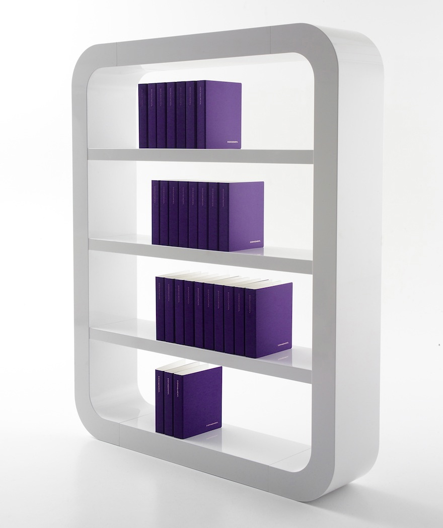 Designing for book lovers bookshelves core77 for Minimalist furniture